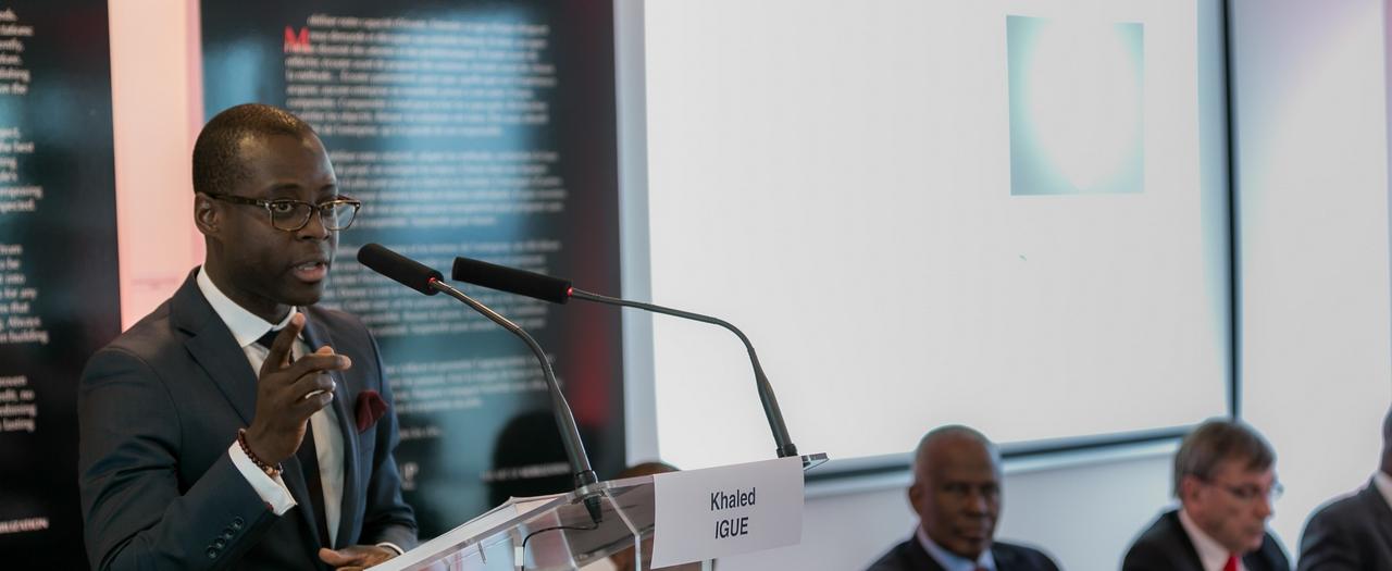 Khaled Igue Conference Energie Afrique horizon 2050 Club 2030 Afrique